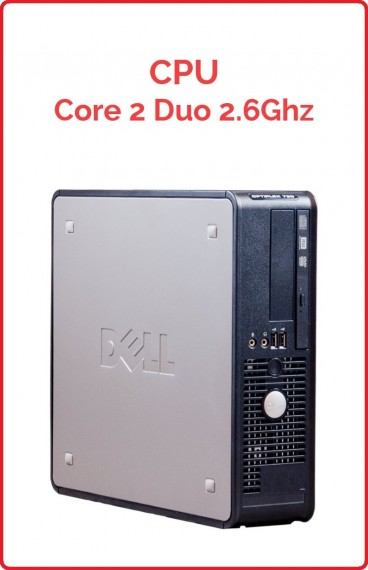 CPU Core 2 Duo 2.6 Ghz