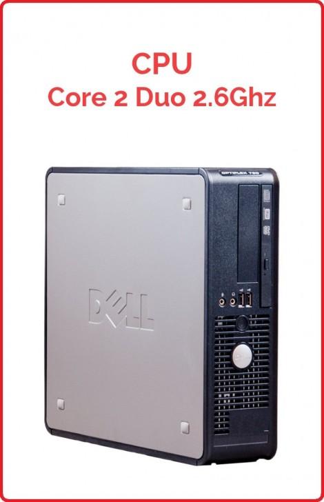 CPU Core 2 Duo 2.6 Ghz