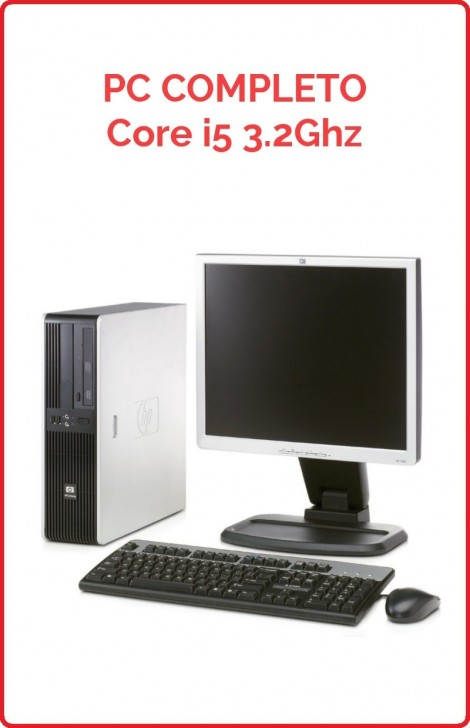 PC Completo Core i5 3,2Ghz