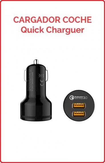 Cargador de Coche USB Quick Charge 3.0