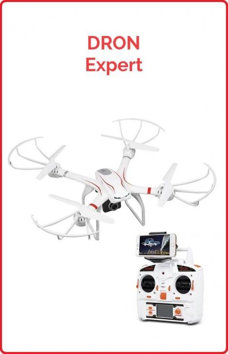 Dron Expert - Cámara HD