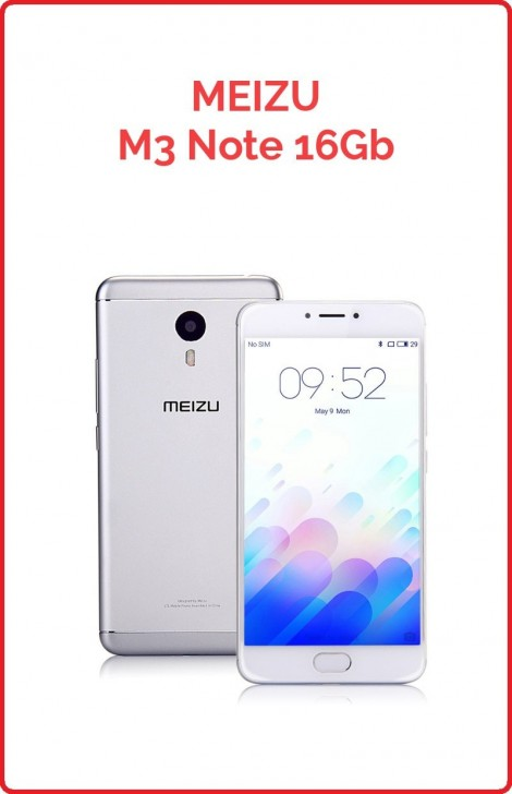 Meizu M3 Note 16gb