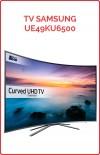 TV CURVO Samsung UE49KU6500