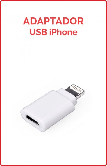 Adaptador USB Iphone