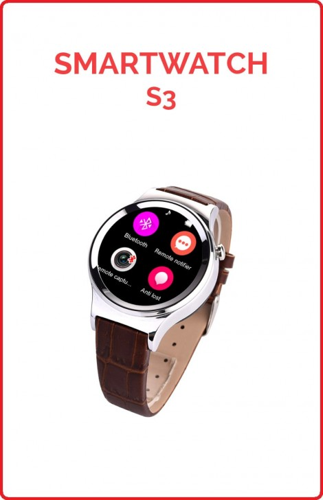 Smartwatch NO.1 SUN S3