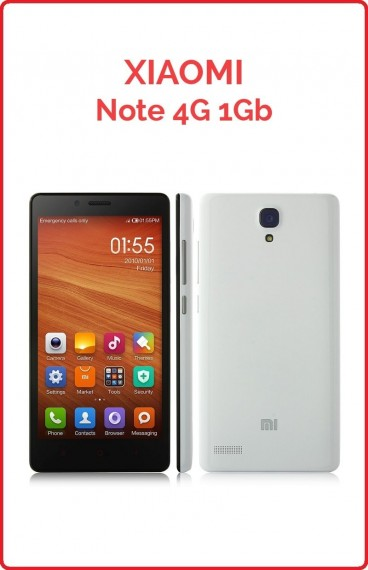 Xiaomi Note 4G 1GB RAM