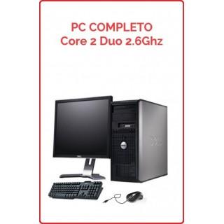 PC Completo Core 2 Duo 2.6 Ghz