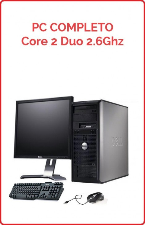 Lote 10 PCs Completo Core 2 Duo 2.6 Ghz