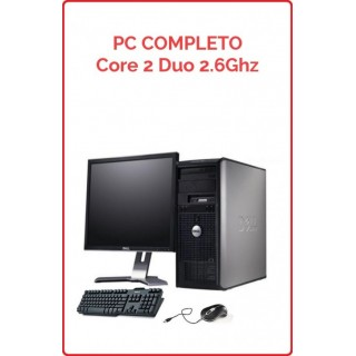 Lote 10 PCs Completos Core 2 Duo 2.6 Ghz