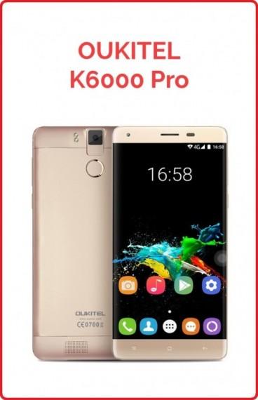 Oukitel K6000 PRO