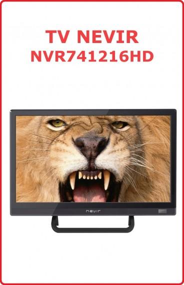 """TV Nevir 16"""" NVR-7412-16HD"""