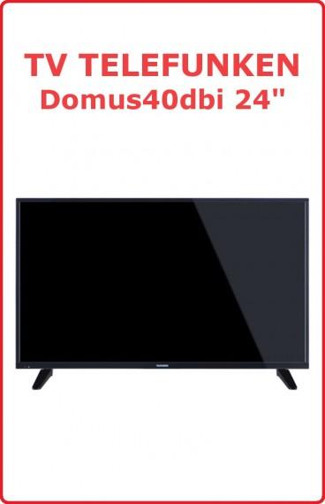 """TV Telefunken 24"""" DOMUS40DVI"""