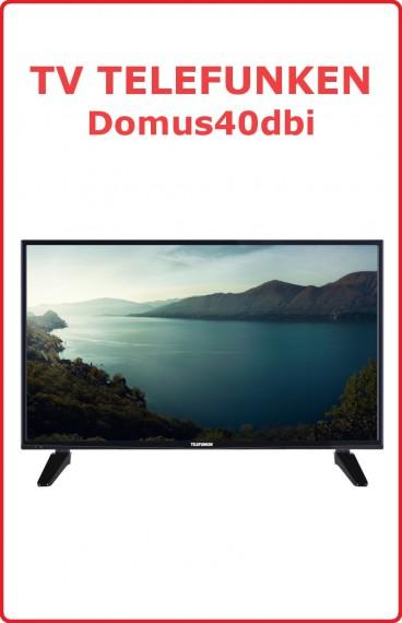 """TV Telefunken 40"""" DOMUS40DVI"""