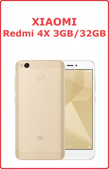 Xiaomi Redmi 4X 3/32gb