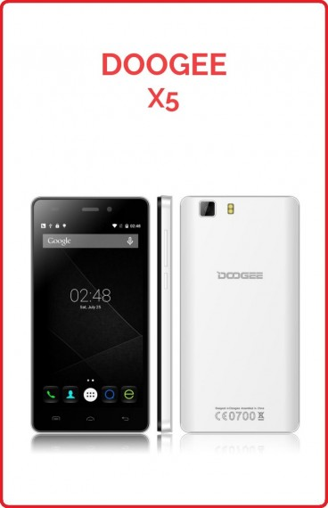 Doogee Galicia X5 3G